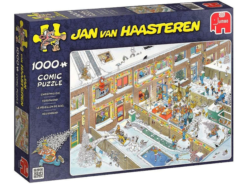 Christmas Eve Jan Van Haasteren 1000pc Jigsaw Jumbo