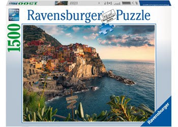 Ravensburger Cinque Terre Viewpoint - 1500 Piece Jigsaw