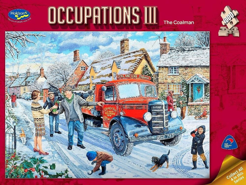The Coalman: Occupations 1000pc Jigsaw Holdson