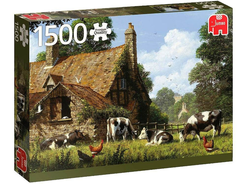 Cows At The Farm: 1500pc Jumbo