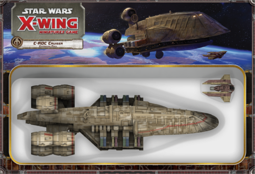 Star Wars X Wing C-Roc Cruiser