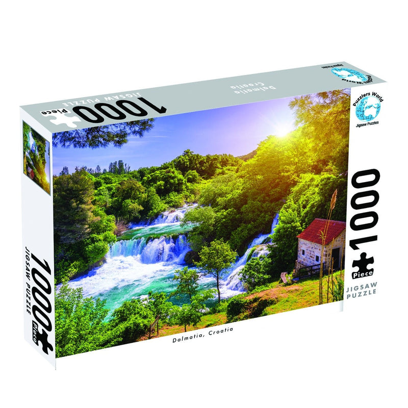 DALMATIA CROATIA - 1000PC JIGSAW - PUZZLERS WORLD