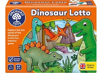 Orchard Game Dinosaur Lotto