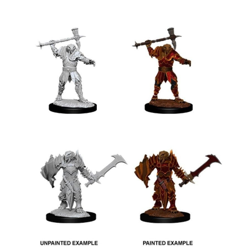 Dungeons & Dragons - Nolzurs Marvelous Unpainted Miniatures Male Dragonborn Paladin