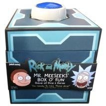Rick & Morty Mr Meeseeks Box O Fun Dice Game