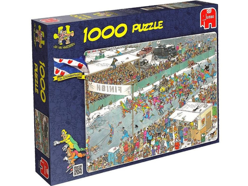 Eleven City Ice Tour Jan Van Haasteren 1000pc Jigsaw Jumbo