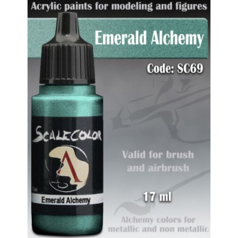 Scale 75 - Scalecolor Emerald Alchemy (17 ml) SC-69 Acrylic Paint