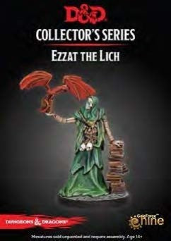 D&D Waterdeep Dungeon Of The Mad Mage Ezzat The Lich