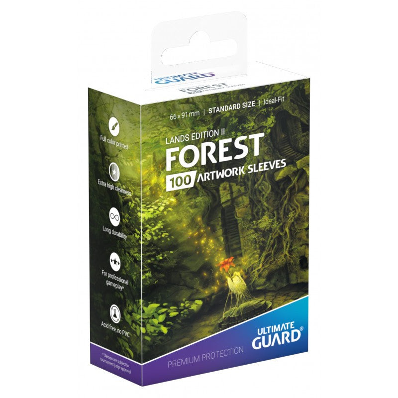 Ultimate Guard Lands Edition 2 Forest Standard Sleeves
