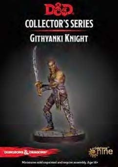 D&D Waterdeep Dungeon Of The Mad Mage Githyanki Knight