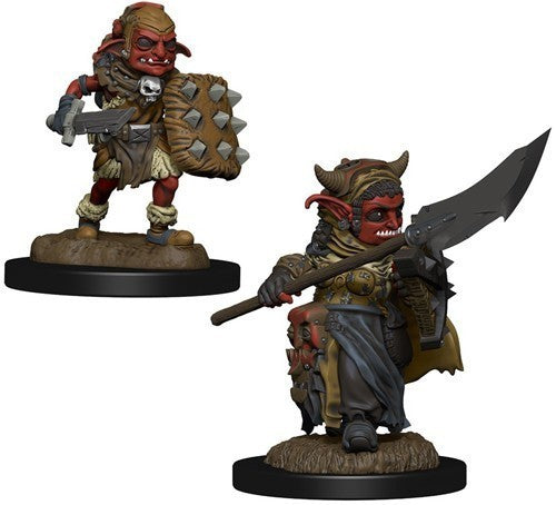 Wizkids Wardlings Rpg Figures Goblin (Male) & Goblin (Female)