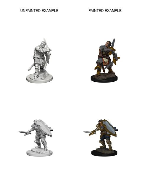 Dungeons & Dragons - Nolzurs Marvelous Unpainted Miniatures Human Male Paladin