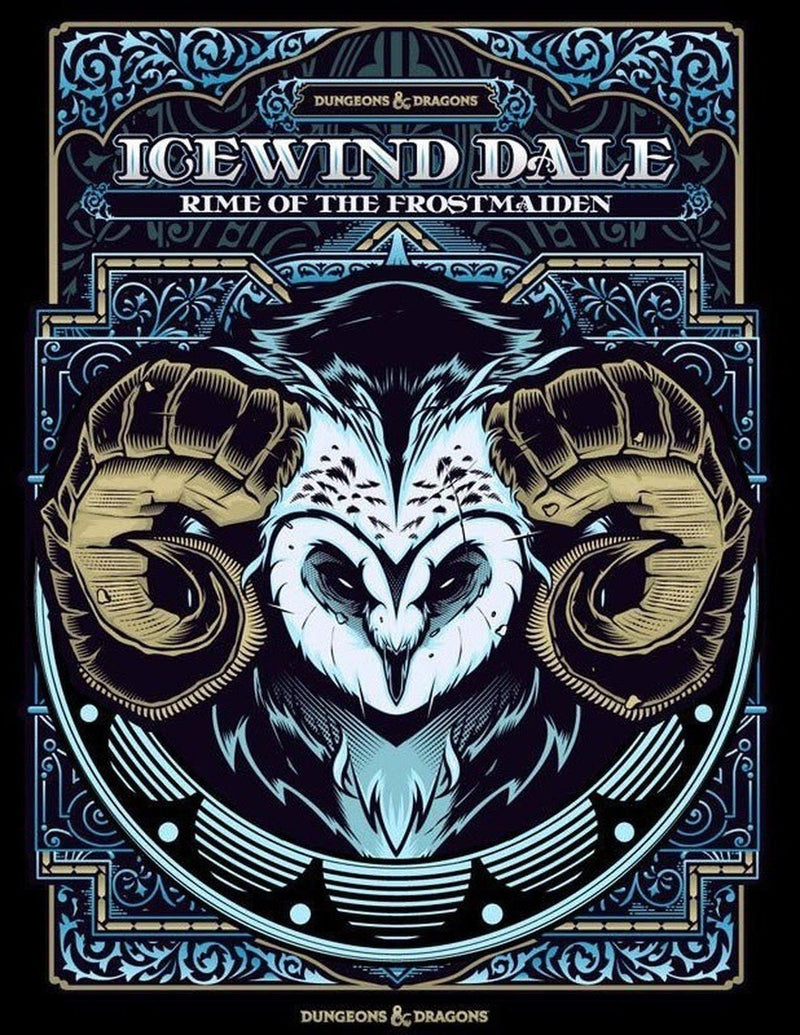 Dungeons & Dragons - Icewind Dale: Rime of the Frostmaiden (Alternate Art) - Good Games