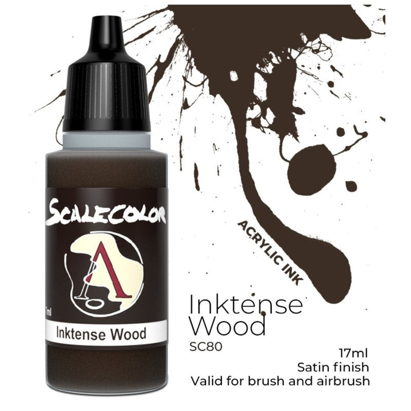 Scale 75 - Scalecolor Inktense Wood (17 ml) SC-80 Acrylic Paint