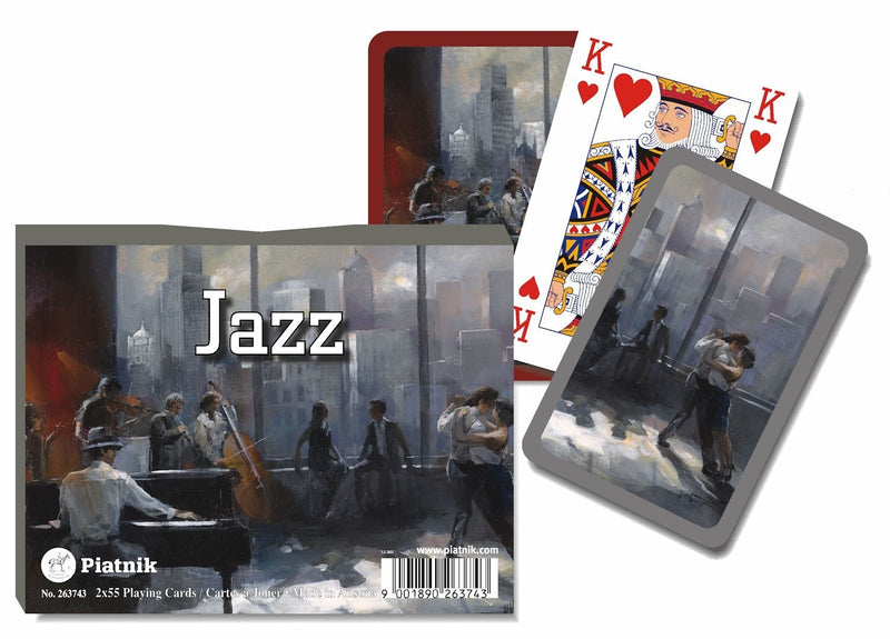 Jazz: Double Deck Playing Cards Piatnik
