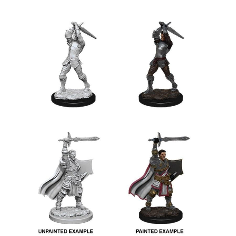 Dungeons & Dragons - Nolzurs Marvelous Unpainted Miniatures Male Human Paladin