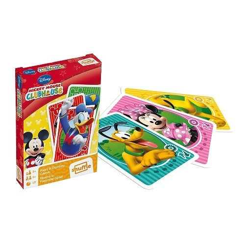 Disney Mickey Mouse Clubhouse - Pairs And Donkey Game