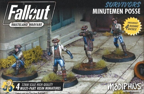 Fallout Wasteland Warfare Survivors Minutemen Posse