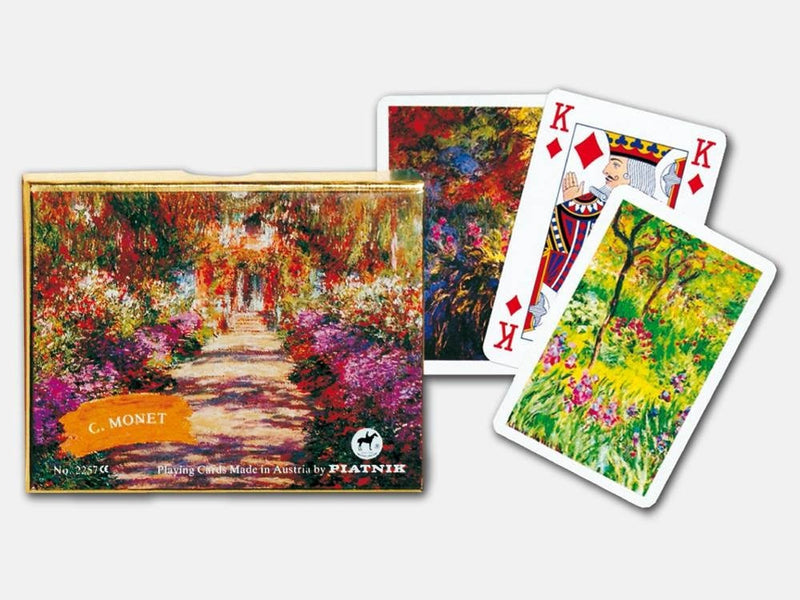 Monet Giverny Bridge - Double Pack - Piatnik - Playing Cards