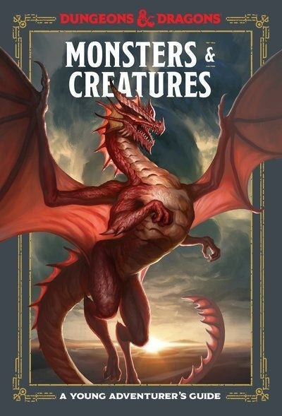 Dungeons & Dragons Monsters And Creatures:  A Young Adventurers Guide