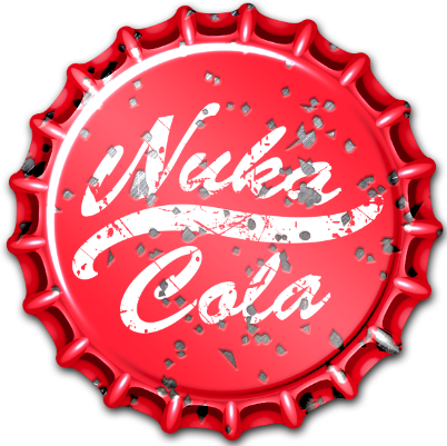 Fallout Wasteland Warfare Nuka Cola Caps Set