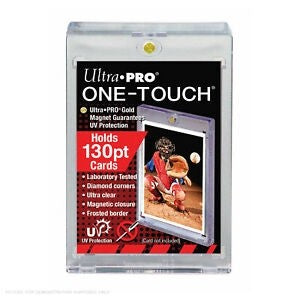 ONE TOUCH 130PT CARD DISPLAY