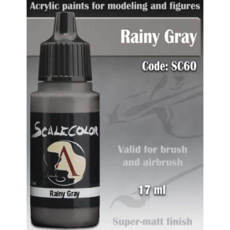 Scale 75 - Scalecolor Rainy Gray (17 ml) SC-60 Acrylic Paint