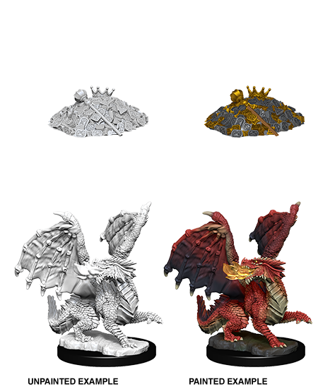 D&D Nolzurs Marvelous Miniatures Red Dragon Wyrmling