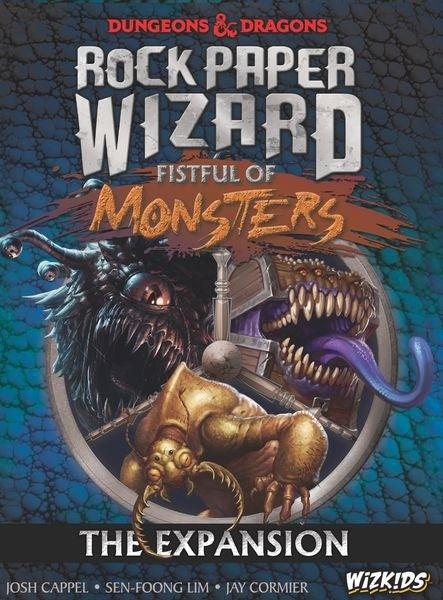 D&D Rock Paper Wizard Fistful Of Monsters