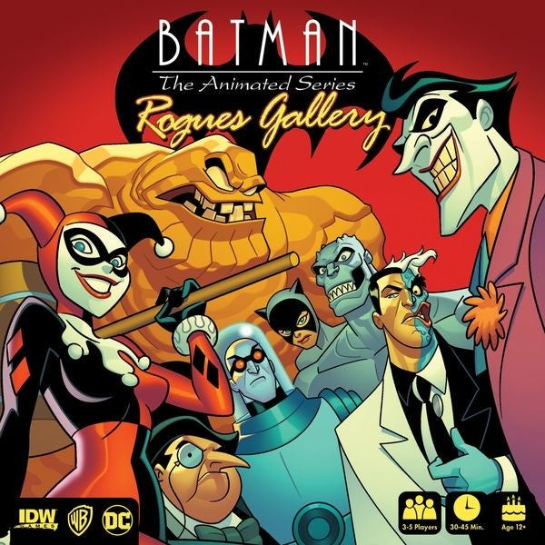 Rogues Gallery Batman Animated Game