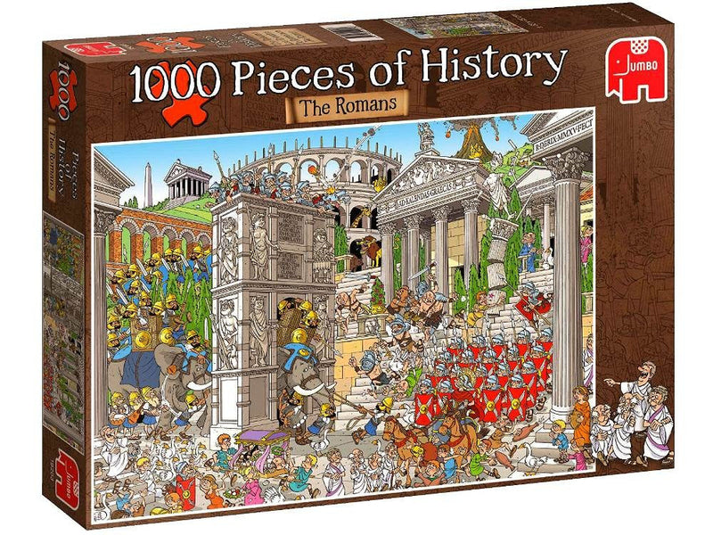 The Romans, Pieces Of History: 1000pc Jumbo