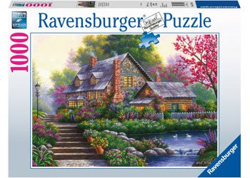 Ravensburger Romantic Cottage - 1000 Piece Jigsaw