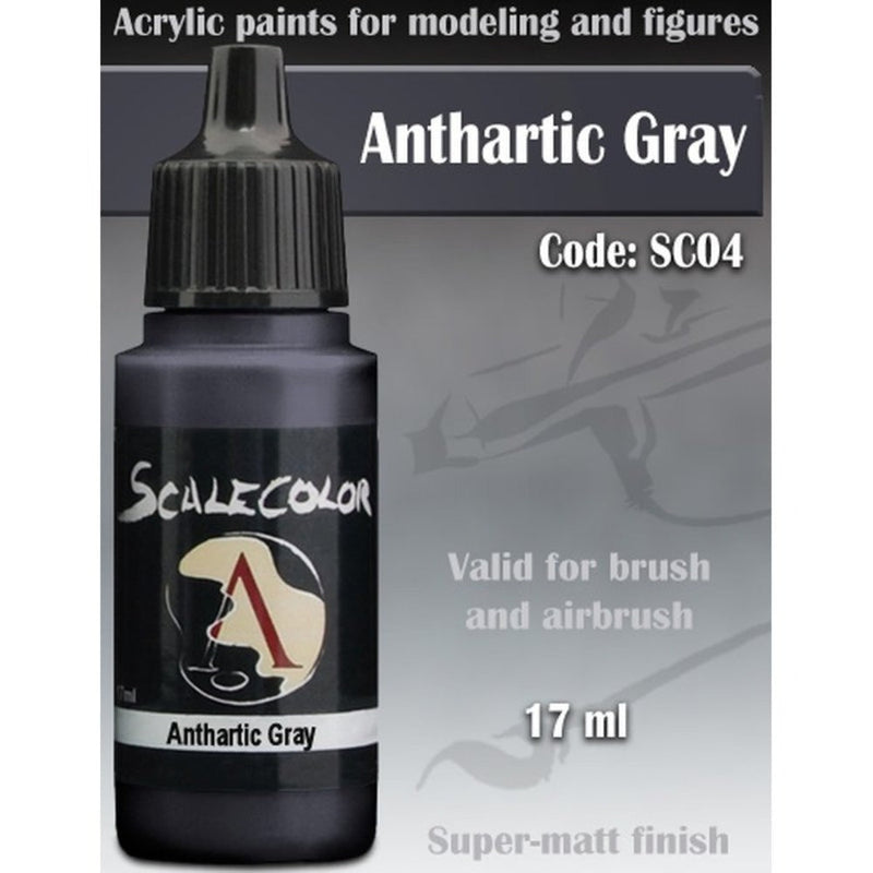 Scale 75 - Scalecolor Anthartic Grey (17 ml) SC-04 Acrylic Paint