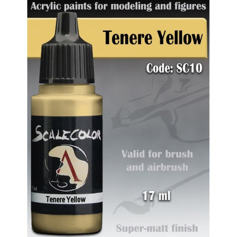 Scale 75 - Scalecolor Tenere Yellow (17 ml) SC-10 Acrylic Paint