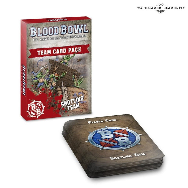 Blood Bowl: Snotling Team Card Pack 200-89