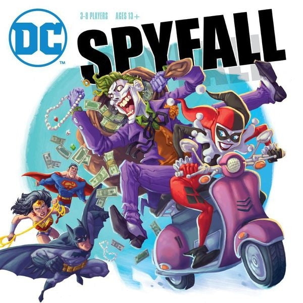 Spyfall Dc Comics Board Game