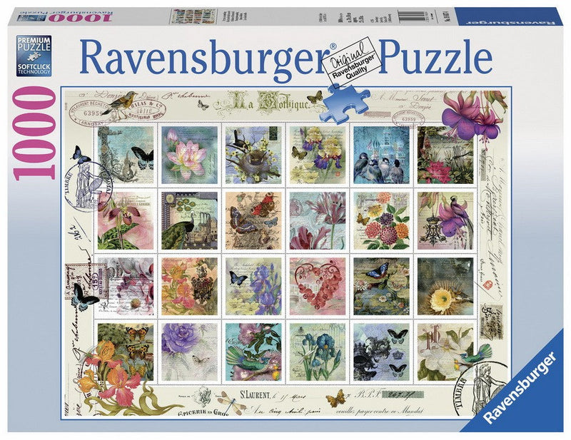 Jigsaw Puzzle Stamp Collection 1000pc
