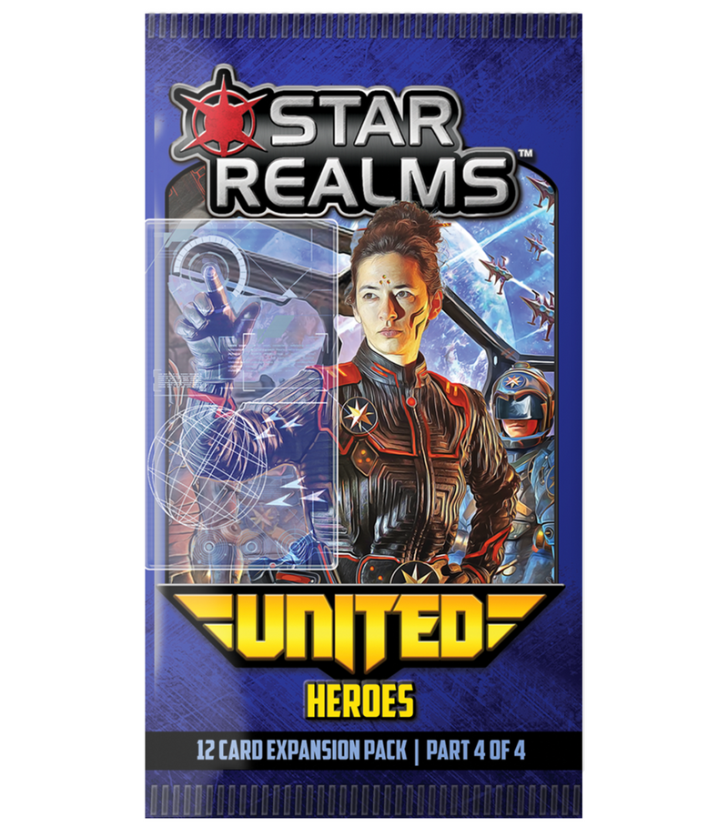 Star Realms United Heroes Expansion 4 Booster