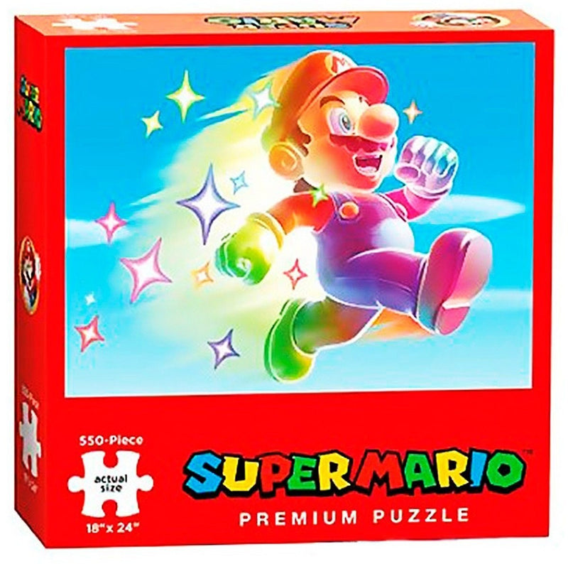 Star Power Mario Puzzle (550 Pc)