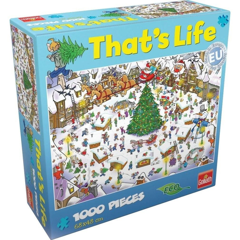 THATS LIFE CHRISTMAS 1000PC JIGSAW - GOLIATH