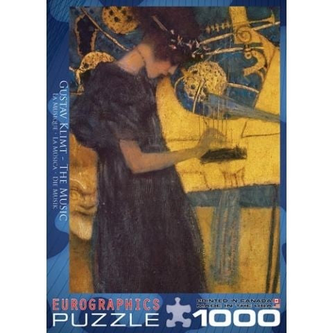 Klimt, The Music 1000pc