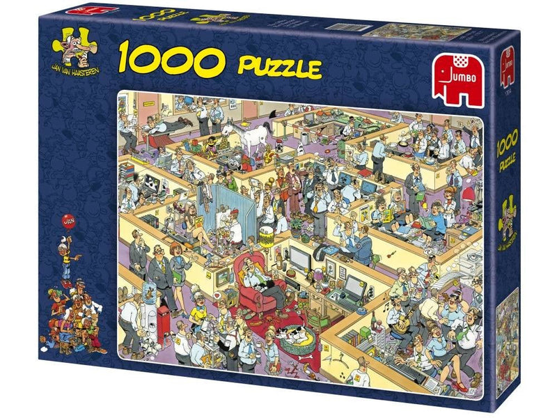 The Office Jan Van Haasteren 1000pc Jigsaw Jumbo