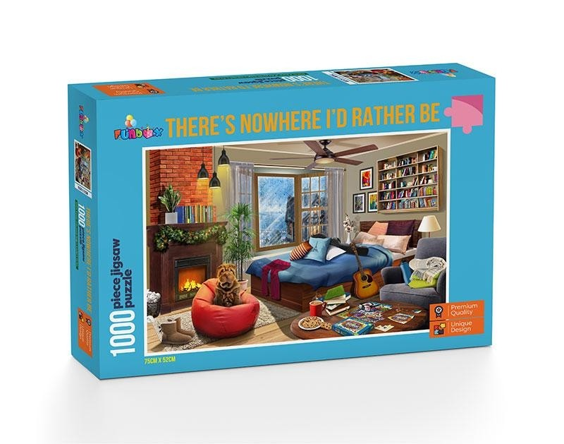THERE'S NOWHERE I'D RATHER BE - 1000PC JIGSAW - FUNBOX