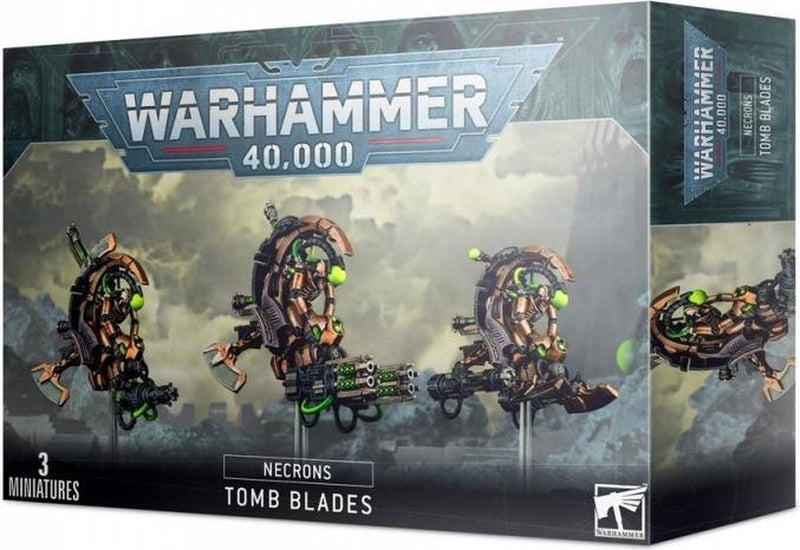 49-13 Necrons Tomb Blades 2020 - The Games Capital