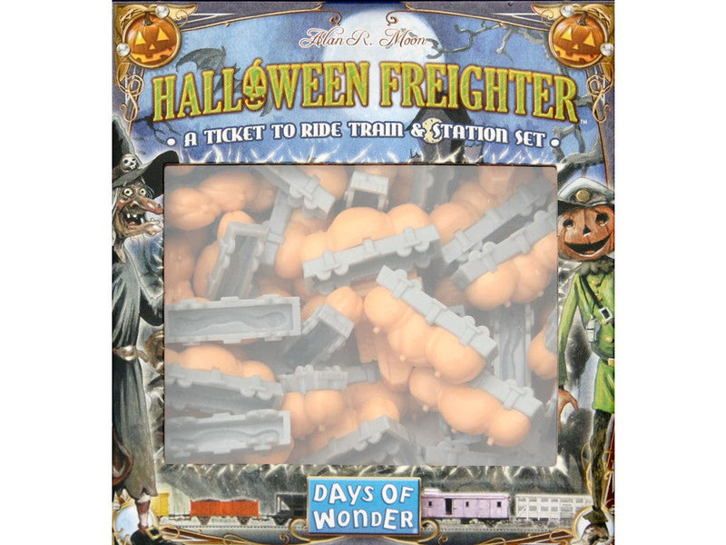 Ticket To Ride: Halloween Freighter Train & Station Set - The Games Capital