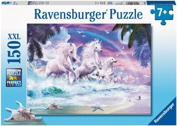 Ravensburger Unicorns on the Beach - 150 Piece Jigsaw