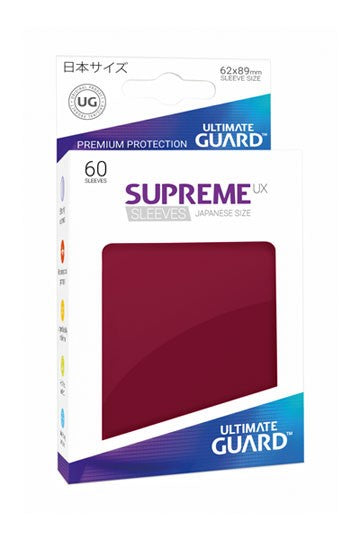 Ultimate Guard Supreme Ux Sleeves Size Burgundy (60)