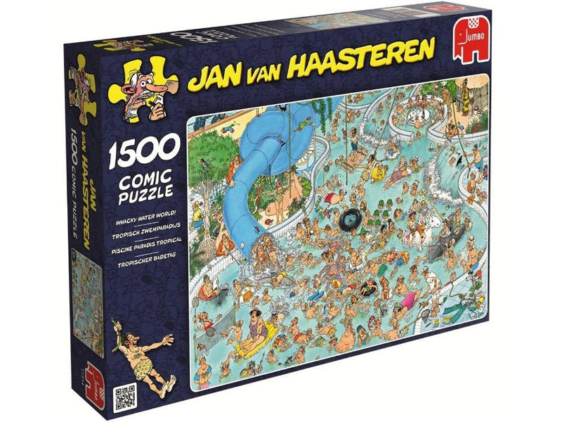 Wacky Water World Jan Van Haasteren 1500pc Jigsaw Jumbo