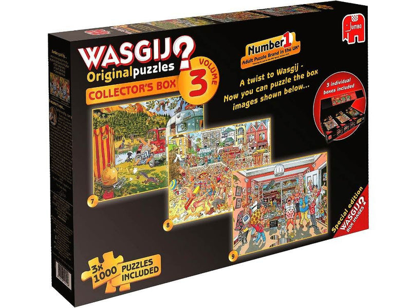 Wasgij Collectors Box 3 Jigsaw Jumbo