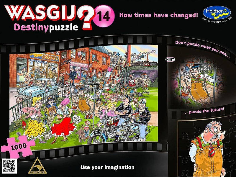Wasgij? Destiny: 14 How Times Have Changed 1000pc Jigsaw Holdson
